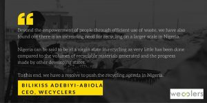 Empowering communities through recycling: an Interview with Bilikiss Adebiyi-Abiola, the recycling queen of Africa (Episode 8)