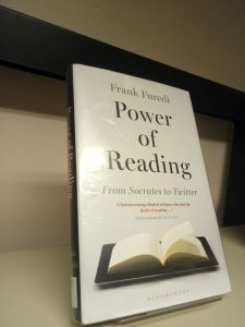The Power of Reading: From Socrates to Twitter by Frank Furedi (Book review)