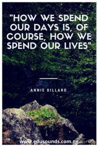 "A review of Annie Dillard's ""The writing life"": seeing writing through metaphors"